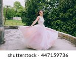 Stylish Bride On A Walk