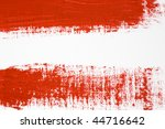 red brush stroke | Shutterstock . vector #44716642