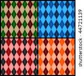 Seamless Argyle Pattern...