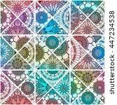 pattern seamless background ... | Shutterstock .eps vector #447234538