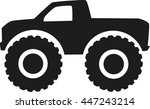 Monster Truck Icon   Four Whee...