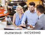 auto business  sale and people