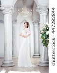 Elegant Brunette Bride Is In...