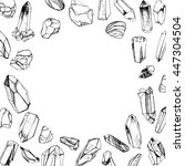 Hand Drawn Crystals Placed...