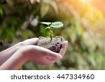 ecology concept. | Shutterstock . vector #447334960
