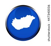 hungary map button in the... | Shutterstock . vector #447340036