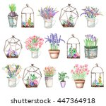 a set of illustrations with... | Shutterstock . vector #447364918