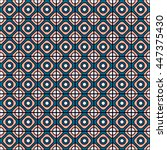 colorful seamless pattern with...   Shutterstock .eps vector #447375430