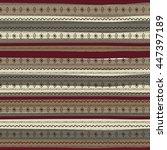 uncommon ethnic pattern....   Shutterstock .eps vector #447397189