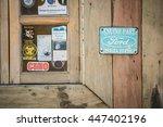 punta arenas  region de...   Shutterstock . vector #447402196