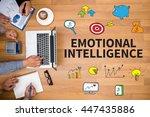 emotional intelligence business ... | Shutterstock . vector #447435886
