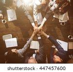 business corporation...   Shutterstock . vector #447457600