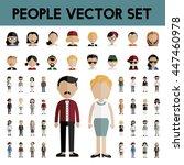 diversity community people flat ... | Shutterstock .eps vector #447460978
