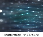 abstract background. blue shiny ... | Shutterstock . vector #447475870