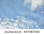 natural water background | Shutterstock . vector #447487540