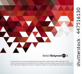 awesome geometric background... | Shutterstock .eps vector #447516130