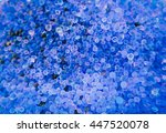 Small photo of Close-up blue silica gel before moisture absorption, texture background