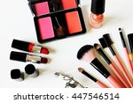 cosmetic for make up  | Shutterstock . vector #447546514