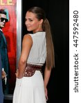 "Small photo of NEW YORK-AUG 10: Actress Alicia Vikander attends ""The Man From U.N.C.L.E."" New York premiere at the Ziegfeld Theatre on August 10, 2015 in New York City."