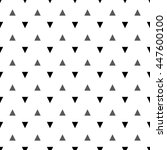 triangle grid design. | Shutterstock .eps vector #447600100