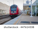 Red Intercity Train Arrives To...