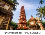 Pagoda Of Tran Quoc Temple In...