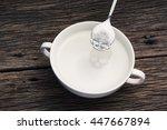 White Sugar In Skull Shape...