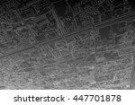 city map background | Shutterstock . vector #447701878