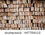 bricks textured background | Shutterstock . vector #447704113