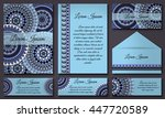 invitations and banners...   Shutterstock .eps vector #447720589