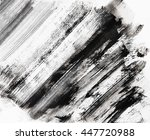 abstract grunge background. ink ... | Shutterstock . vector #447720988