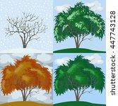 Four Seasons  Winter  Spring ...
