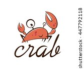 crab icon. crab sign   Shutterstock .eps vector #447792118