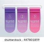 business banner template  ... | Shutterstock .eps vector #447801859