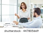 laughing | Shutterstock . vector #447805669