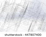 technical drawing | Shutterstock . vector #447807400