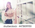 tailor at studio | Shutterstock . vector #447809950