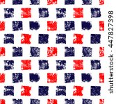 blue red and white grunge... | Shutterstock .eps vector #447827398