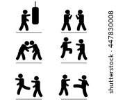 martial arts | Shutterstock .eps vector #447830008