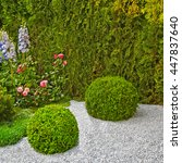 Decorative Bushes In The Form...