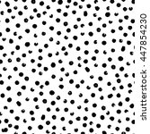 vector seamless modern messy... | Shutterstock .eps vector #447854230