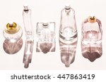 Perfume Bottles On A Bright...
