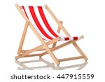 deck chair | Shutterstock . vector #447915559