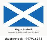 scotland state banner also... | Shutterstock .eps vector #447916198