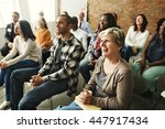 People Diversity Audience...