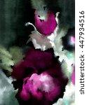 multicolor romantic flower... | Shutterstock . vector #447934516