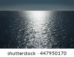 baltic sea  horizon | Shutterstock . vector #447950170
