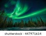 Amazing Northern Lights Flying...