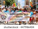 toronto  canada   july 3  2016  ... | Shutterstock . vector #447986404
