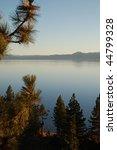 Vertical View Of Lake Tahoe On...
